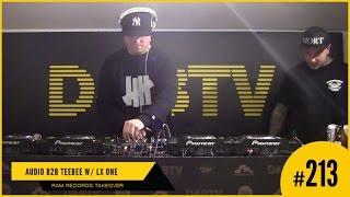 D&BTV Live #213 RAM Records takeover - Audio b2b TeeBee