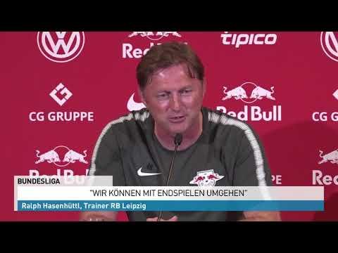 Leipzig bangt um die CL- Quali Trainer Ralph
