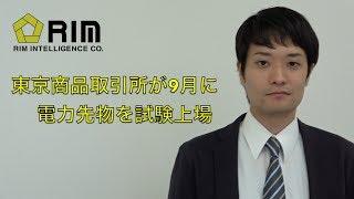 東京商品取引所が9月に電力先物を試験上場