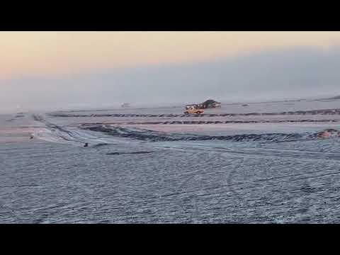 المدينة المنورة : الثلوج تُغطي مرتفعات حرّة الرأس الأبيض