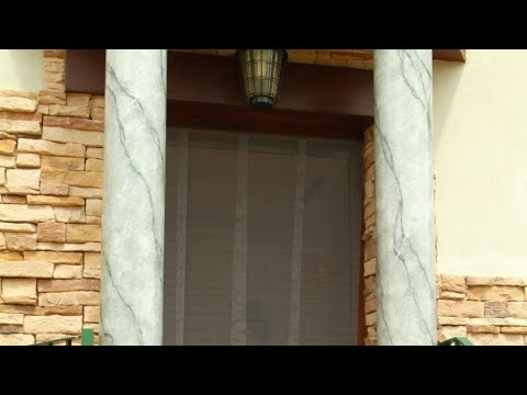 Cortina mosquitera para puerta - Bricomania