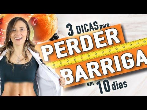 Imagem ilustrativa do vídeo: 3 dicas para perder barriga em 10 dias