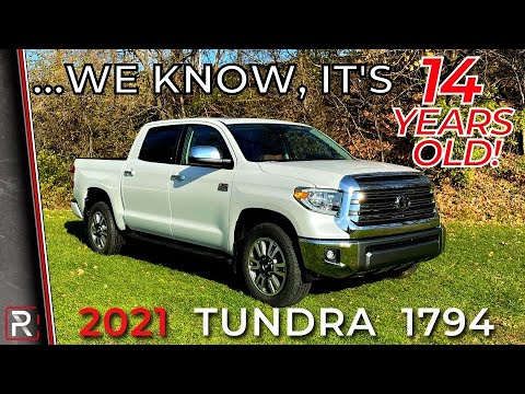The 2021 Toyota Tundra 1794 is a Solidly Built Truck Due for a Complete Redesign