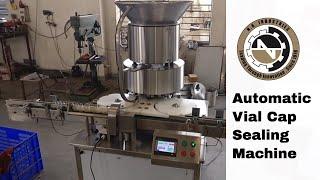 12 Head Vial Sealing Machine