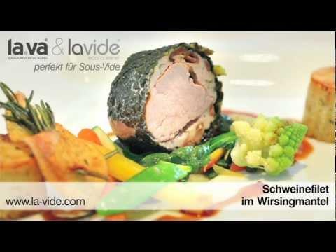 Schweinefilet im Wirsingmantel - Sous-Vide
