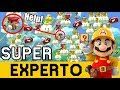 SUPER EXPERTO NO SKIP | Super Mario Maker
