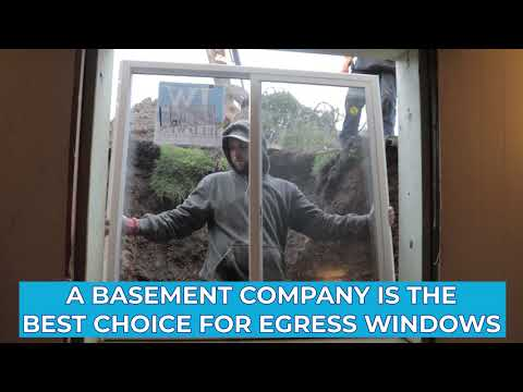 Use A Basement Company for Your Egress Windows