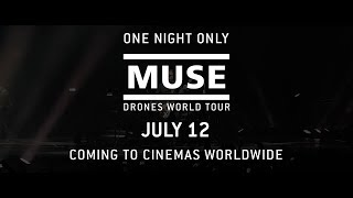 "MUSE: Drones World Tour // ""Psycho"" Teaser [In Cinemas Worldwide 12 July]"