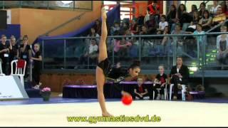 preview picture of video 'Grand-Prix Holon 2013 - Senior - 04 - Aysha Mustafayeva - Ball'