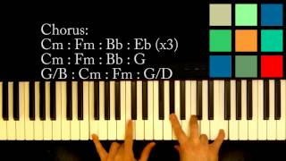 "How To Play ""This Love"" Piano Tutorial (Maroon 5)"
