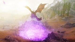 """Skyrim mod: """"Мифическая броня и личный дракон от Zerofrost"""""""