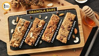 Granola Bars 4 Exciting Ways Recipe By Food Fusion