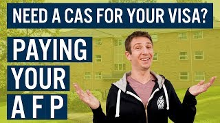 Need a CAS for you visa? Paying your AFP - Study in the UK | Cardiff Met International