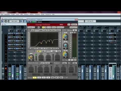 Cubase mixing tutorial on vocal processing workflow
