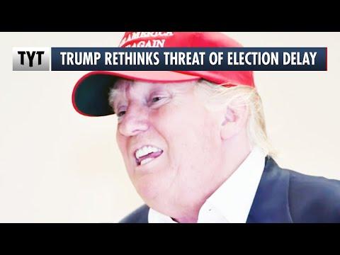 Trump Walks Back on Election Delay Threat