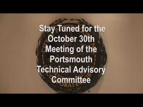 Technical Advisory Committee 10.30.2018