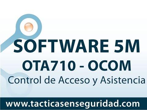 Capacitación Software 5M del Control de Acceso y Asistencia OTA710 Colombia
