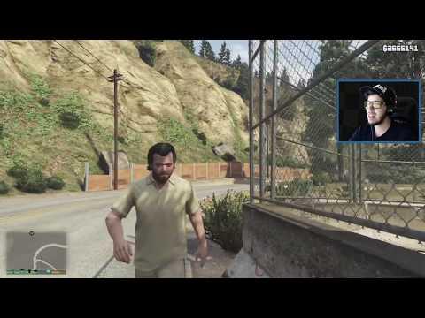 Grand Theft Auto V Walkthrough - GTA 5 Mods - IRON MAN/TONY