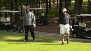 Steve Spurrier In Chick-fil-A Peach Bowl Challenge Golf Event