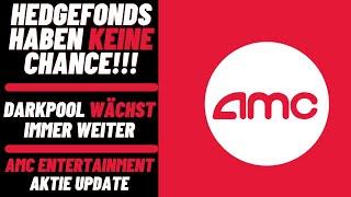 AMC Entertainment Aktie Update - Hedgefonds haben keine Chance! Der Darkpool wächst immer weiter!