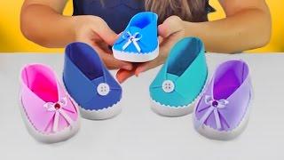 Aprenda, passo a passo, como fazer lindos sapatinhos em EVA para meninos e meninas que vocês podem dar de lembrancinha maternidade, chá de bebê e aniversário infantil. É lindo e super fácil de fazer!  www.amofestas.com www.facebook.com/amofestas