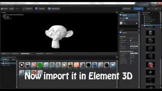Blender To Element 3D Export