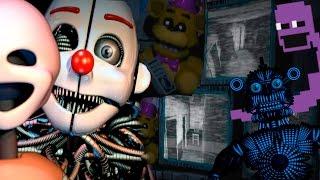 👊 Теории и Секреты Five Nights at Freddy's Sister Location - НАСТОЯЩАЯ ЦЕЛЬ ФИОЛЕТОВОГО ПАРНЯ