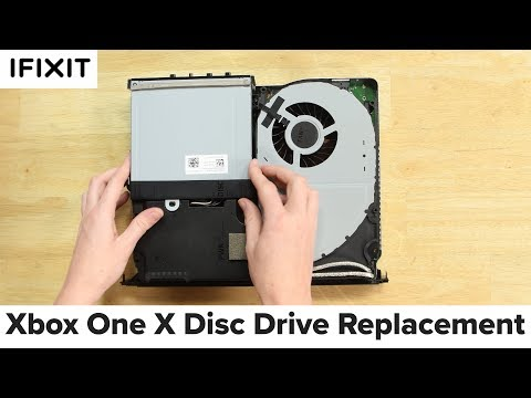 Xbox One X Disc Drive Replacement-How To