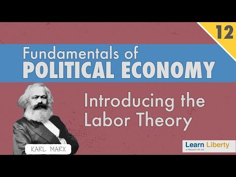 labor theory An economic theory that stipulates that the value of a good or service is dependent upon the labor used in its production the theory was first proposed by adam smith.
