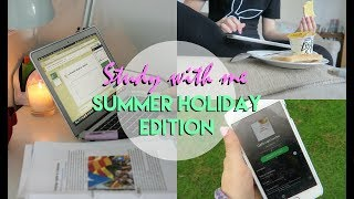 Study With Me: Summer Holiday Edition! | Eve