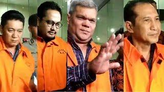 Gelagat para Tersangka Suap Hakim PN Jakarta Selatan Saat Hendak Ditahan KPK