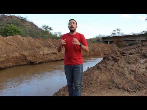 Cagepa realiza obra para abastecer Cariri Paraibano com as águas do Rio São Francisco
