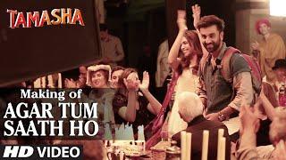 Agar Tum Saath Ho Backstage VIDEO | Tamasha   - YouTube
