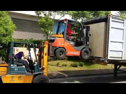 Nuove frontiere della movimentazione: il carrello porta-carrelli... from China