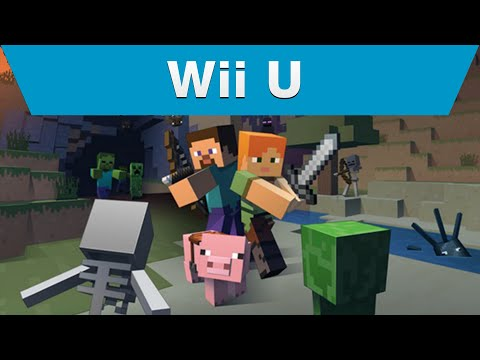 Minecraft WII U: Official Gameplay Trailer (HD) thumbnail