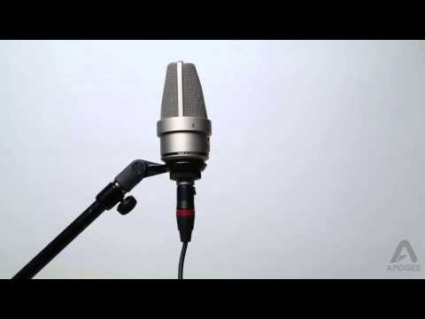 Apogee Duet - Connecting Microphones and Instruments