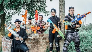 LTT Nerf War : SEAL X Warriors Nerf Guns Fight Criminal Group Dr.Lee Crazy Special Police Squad