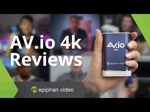 AV.io 4K - Best Capture Card - Review Compilation