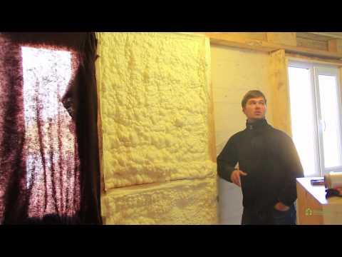 Отзыв о теплоизоляции дома. Утепление стен и кровли.