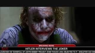 Hitler interviews The Joker