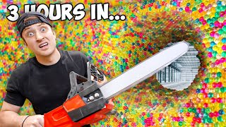 Trapped Inside 100 Layers of Orbeez