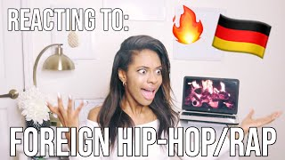 AMERICAN REACTS TO FOREIGN HIP HOP & RAP: GERMAN EDITION! 🔥😱 (i'm Shook)