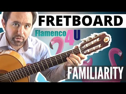 """This is the first video tutorial in a series titled, """"Getting Familiar with the Fretboard."""""""