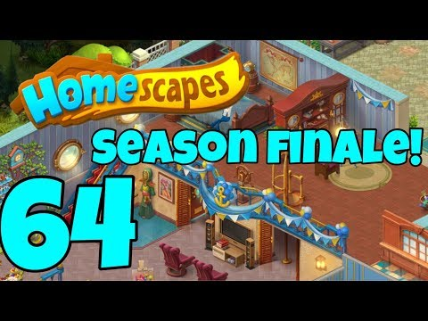 HOMESCAPES - Gameplay Walkthrough Part 64 - Robbie's Guest Room Day 5 Complete House
