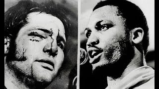 Joe Frazier vs Ron Stander - Highlights (Frazier BATTERS Stander)
