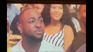 Moment Davido Transferred Money To Akpororo Live On Stage at Kenny blaq's Oxymoron