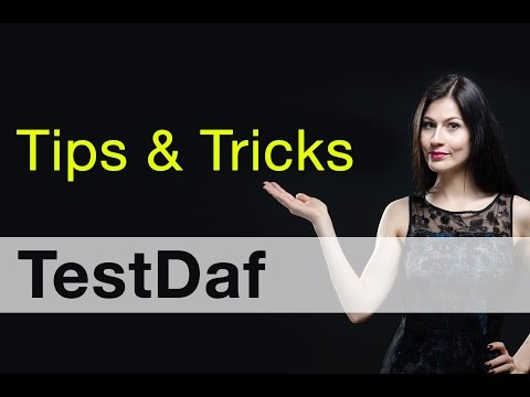 Tipps & Tricks TestDaf
