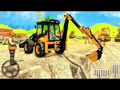 City Road Builder Excavator Construction Simulator - Best Android GamePlay