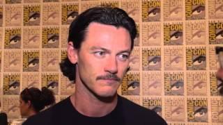 Люк Эванс, SDCC 2014 The Hobbit The Battle of the Five Armies Exclusive Cast