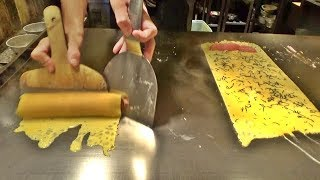 The most difficult omlette at hibachi restaurant